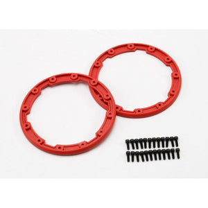 TRAXXAS Sidewall protectors, red