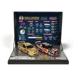 SCLEXTRIC CRAIG LOWNDES 100TH RACE WIN - Hearns Hobbies Melbourne - SCALEXTRIC