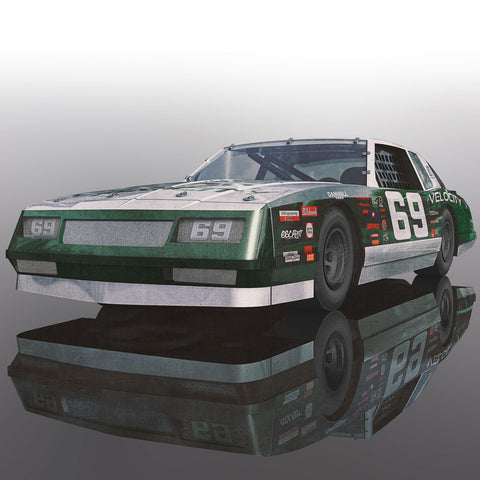 SCALEX CHEVROLET MONTE CARLO 1986 - Green & WHITE