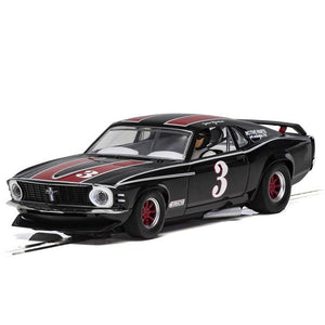 SCALEXTRIC FORD MUSTANG, TRANS AM 1972 - JOHN GIMBEL (57-C4014)