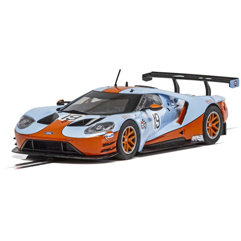 Image of SCALEXTRIC FORD GT GTE - GULF EDITION
