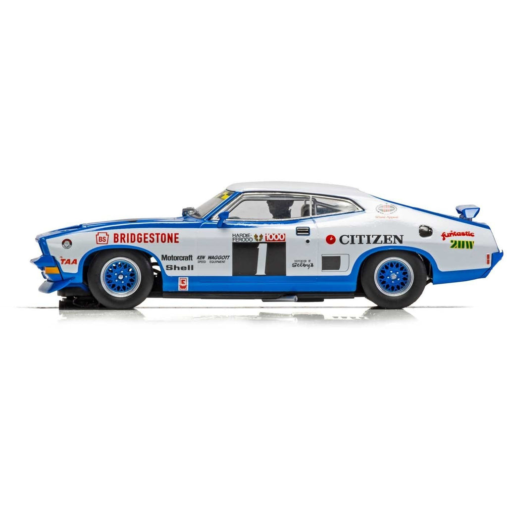 SCALEXTRIC FORD XB FALCON - BATHURST 1975 - GOSS,BARTLET