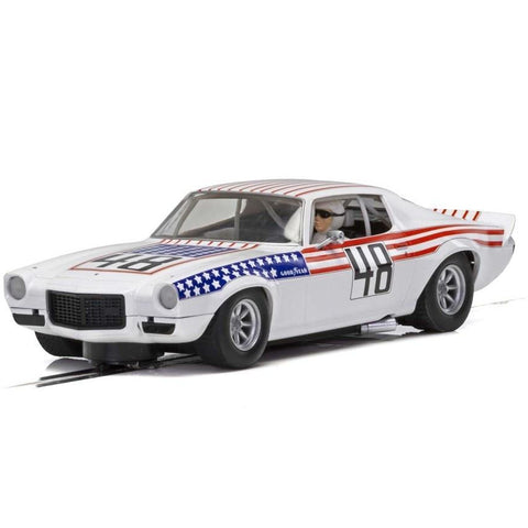 SCALEXTRIC CHEVROLET CAMARO - STARS N STRIPES (57-C4043)