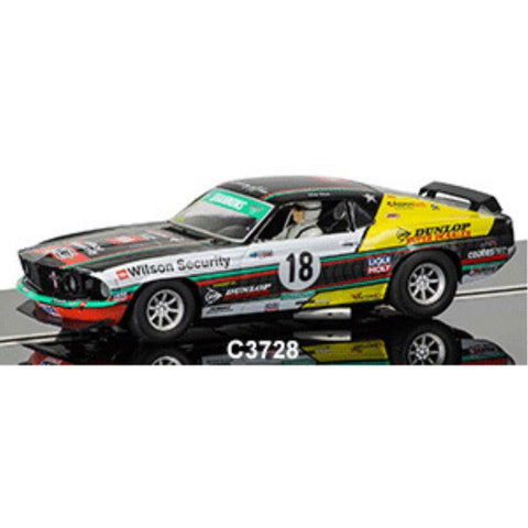 SCALEXTRIC  FORD MUSTANG BOSS 302 1969 TANS AM - Hearns Hobbies Melbourne - SCALEXTRIC