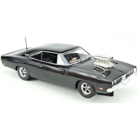 SCALEXTRIC 1969 Dodge Charger (Gloss Black) w/Blower (57-C3