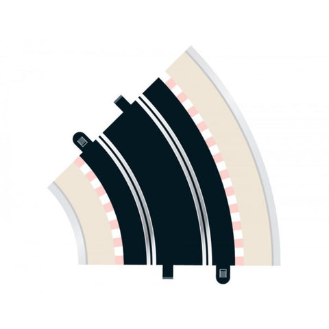 SCALEXTRIC STANDARD CURVE 45 DEGREES (2)