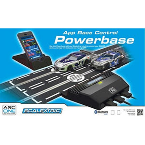 SCALEXTRIC  APP RACE CONTROL POWERBASE - Hearns Hobbies Melbourne - SCALEXTRIC