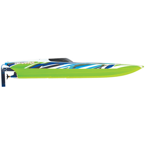 Image of TRAXXAS DCB M41 Widebody Catamaran - Green