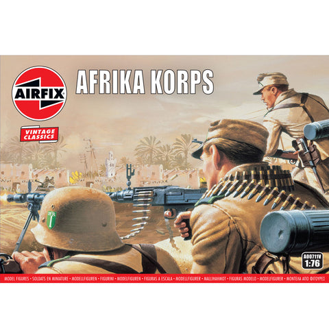AIRFIX WWII AFRIKA CORPS 1:72