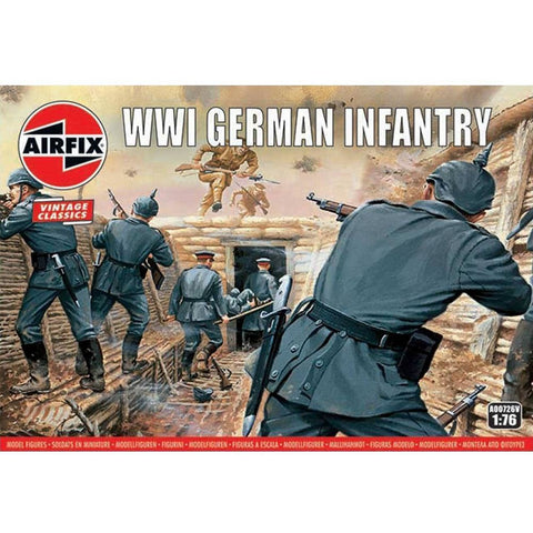AIRFIX WWI GERMAN INFANTRY 1:76  (58-00726V)