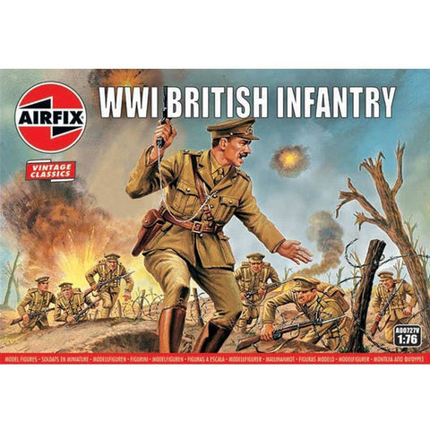 AIRFIX WWI BRITISH INFANTRY 1:76  (58-00727V)