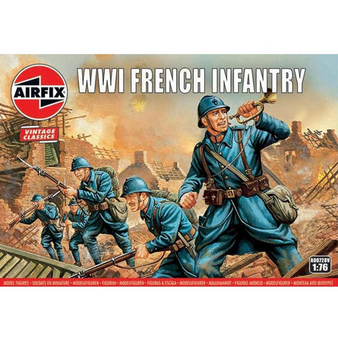 AIRFIX 1:76 WWI FRENCH INFANTRY (58-00728V)