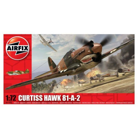 AIRFIX CURTIS P40B  1:72 - Hearns Hobbies Melbourne - AIRFIX