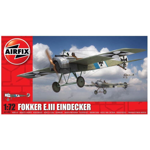 AIRFIX FOKKER EIII EINDECKER 1:72 NEW for 2018