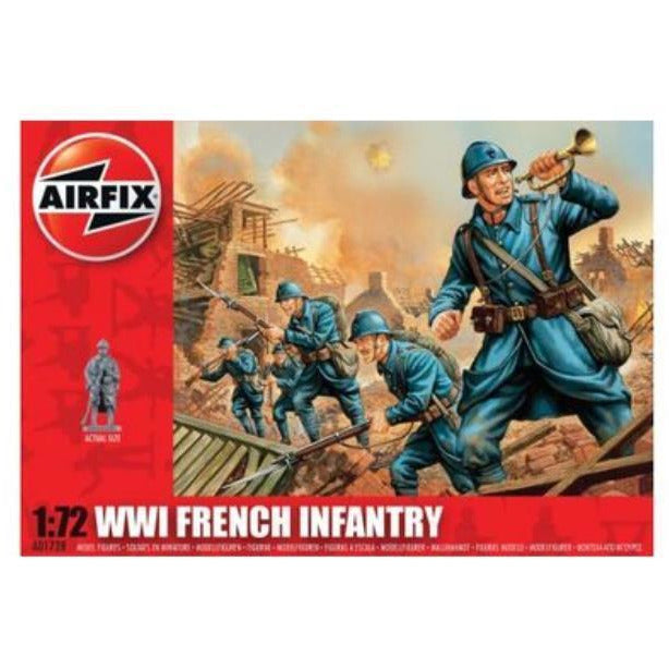AIRFIX WWI FRENCH INFANTRY 1/72