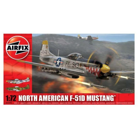 AIRFIX NORTH AMERICAN P-51F MUSTANG 1/72