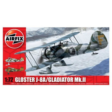 AIRFIX GLOSTER GLADIATOR PLUS SKIS