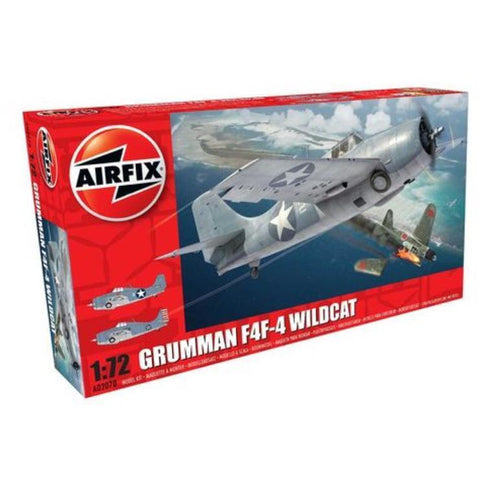 AIRFIX GRUMMAN WILDCAT F4F-4 - Hearns Hobbies Melbourne - AIRFIX