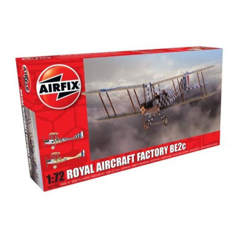 AIRFIX ROYAL AIRCRAFT FACTORY BE2C SCOUNT 1:72 - NEW LIVERY (58-02104)