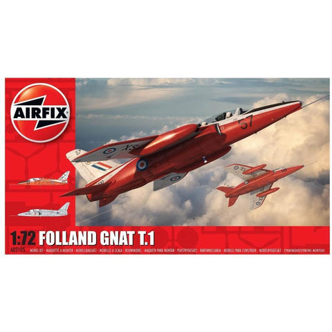 AIRFIX FOLLAND GNAT T.1 1:72 (58-02105)