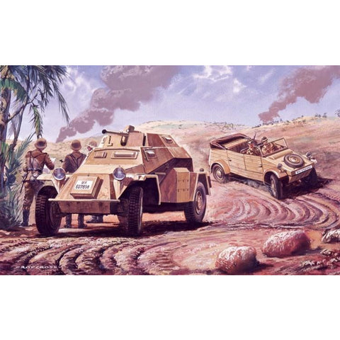 AIRFIX GERMAN RECONNAISANCE SET (58-02312V)