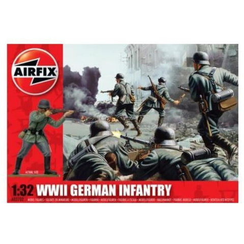 AIRFIX WWII GERMAN INFANTRY   1:32