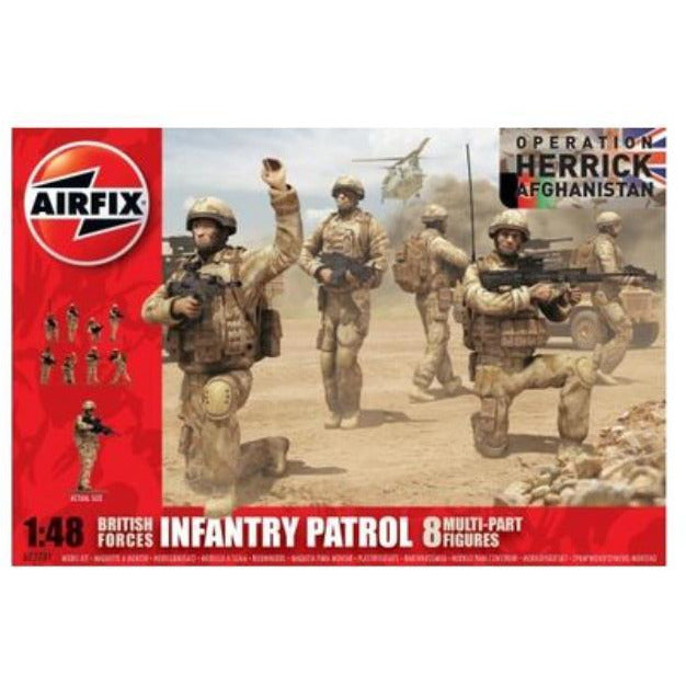 AIRFIX MODERN BRITISH ARMY TROOPS 1/48