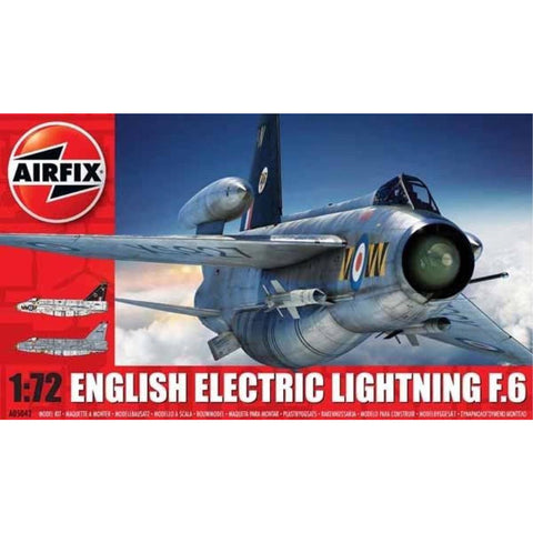 AIRFIX ENGLISH ELECTRIC LIGHTNING F6 1/72 (58-05042A)