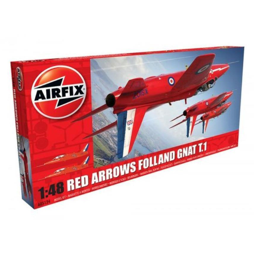 AIRFIX RED ARROWS GNAT 1/48