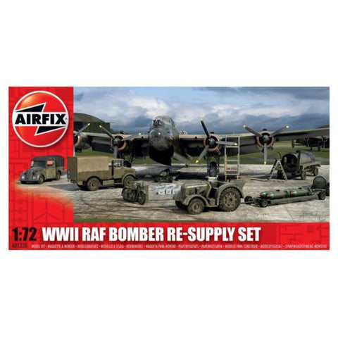 AIRFIX WWII BOMBER RE-SUPPLY SET (58-05330)