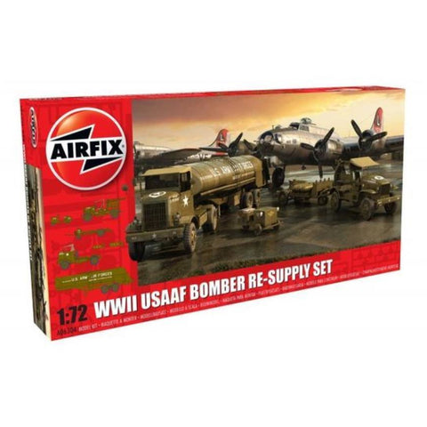 AIRFIX USAAF 8TH AIRFORCE BOMBER RESUPPLY SET (58-06304)