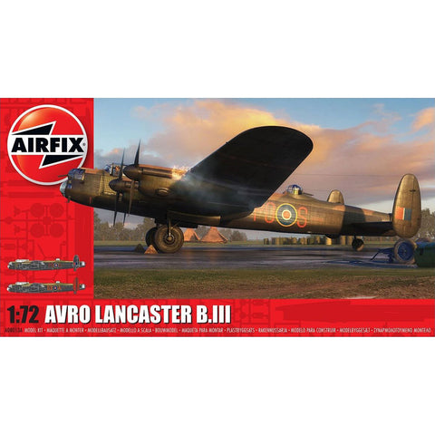Image of AIRFIX AVRO LANCASTER B.I/B.III 1:72 (58-08013A)
