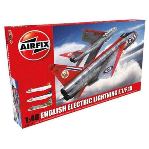 AIRFIX ENGLISH ELECTRIC LIGHTNING F1/F1A/F2/F3 (58-09179)