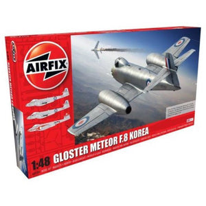 AIRFIX GLOSTER METEOR F8, KOREAN WARE 1:48 - NEW LIVERY (58