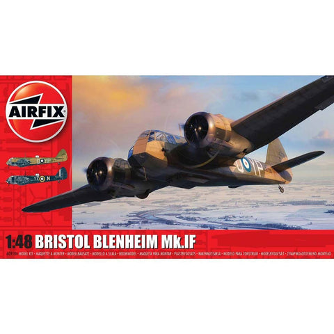 Image of AIRFIX 1/48 Bristol Blenheim Mk.IF