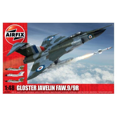 AIRFIX GLOSTER JAVELIN FAW9/9R 1/24