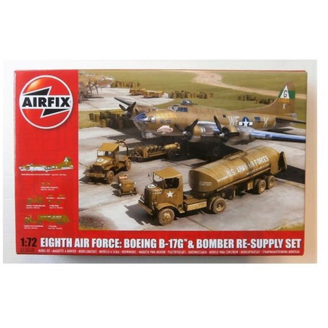 AIRFIX EIGHTH AIR FORCE RESUPPLY SET 1:72 - NEW LIVERY