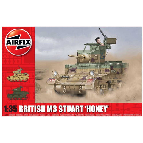 "AIRFIX M3 STUART ""HONEY"" (BRITISH VERSION)(58-1358)"