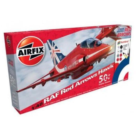 AIRFIX RED ARROWS HAWK GIFT SET - 50TH SEASON 1/48