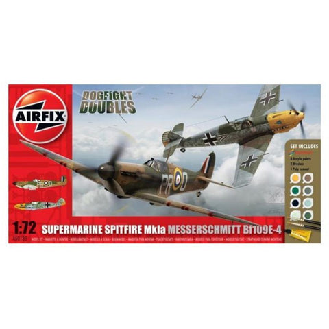 AIRFIX Dogfight Double Spitfire 1A/BF 109E