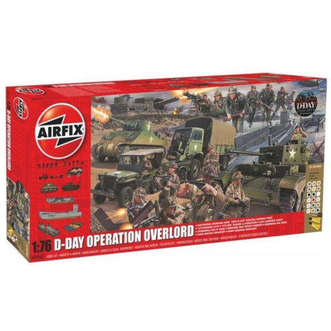 AIRFIX D-DAY OPERATION OVERLORD GIANT GIFT SET 1/72