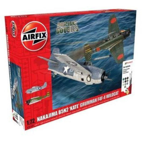 AIRFIX DOGFIGHT DOUBLE B5N KATE/WILDCAT F4F-4