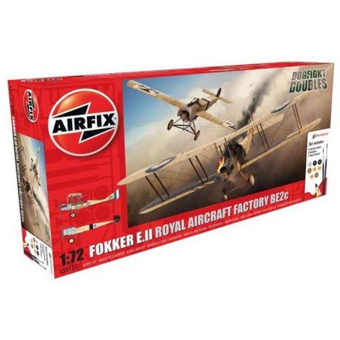 AIRFIX FOKKER EII/BE2C DOG FIGHT DOUBLE