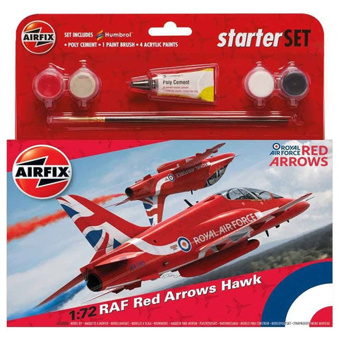 AIRFIX 1/72 Medium - RAF Red Arrows Hawk