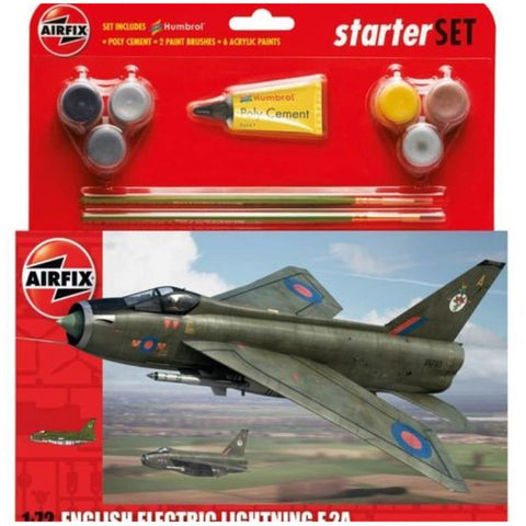 AIRFIX ENGLISH ELECTRIC LIGHTNING F2A 1:72