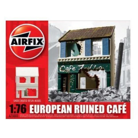 AIRFIX FRENCH RUINED CAFÉ 1/76