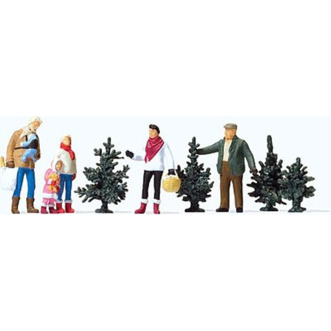 PREISER Christmas Tree Lot - Hearns Hobbies Melbourne - PREISER