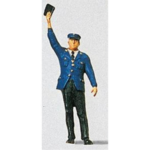 PREISER Conductor w/Arm Raised - Hearns Hobbies Melbourne - PREISER