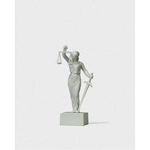PREISER Lady Justice Statue - Hearns Hobbies Melbourne - PREISER