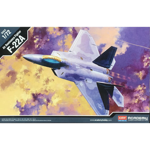 ACADEMY 1/72 Air Dominance Fighter F-22A Raptor